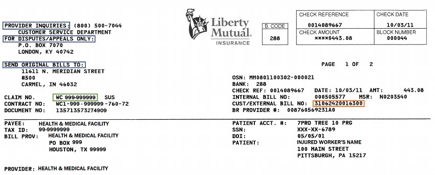 Liberty Mutual Benefits >> Provider Support Center Eob Information